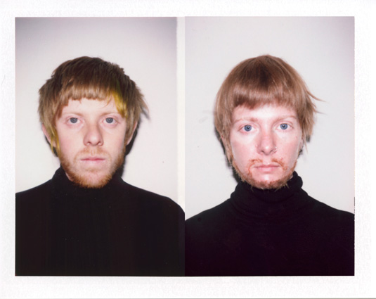 Who Am I? | Millee Tibbs, Untitled (Michael), 2008, Instant Color Positive Film